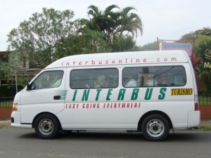 Costa Rica Transportation - the Tourist Van